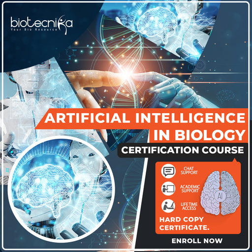 Artificial Intelligence in Biology Certificate Course