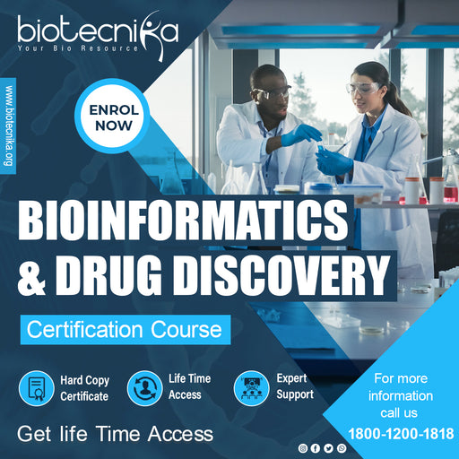 Bioinformatics & Drug Discovery Certification Course