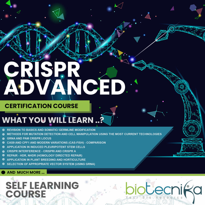 CRISPR Advanced Certification Course