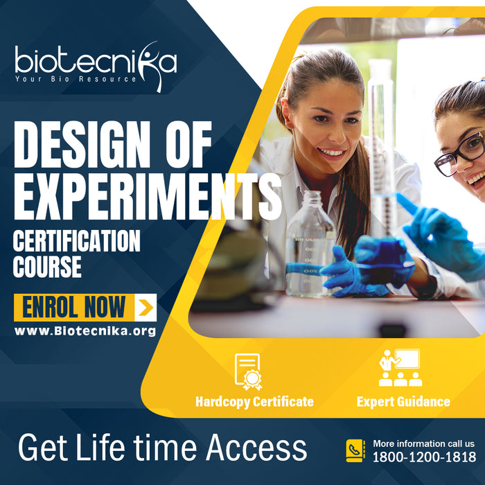 Design of Experiments Certification Course