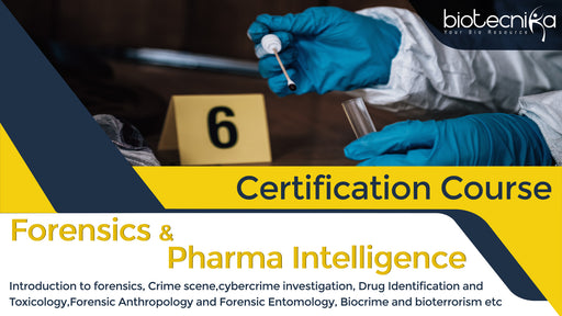Forensic Science & Pharma Intelligence Certification Course