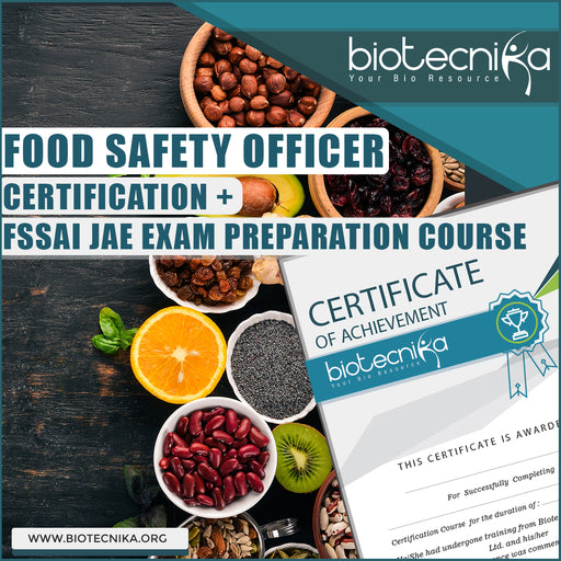 Food Safety Officer Certification + FSSAI JAE Exam Preparation Course