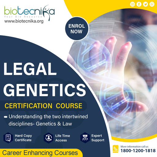 Legal Genetics Certification Course