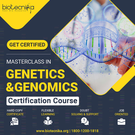 Masterclass In Genetics & Genomics - GET CERTIFIED