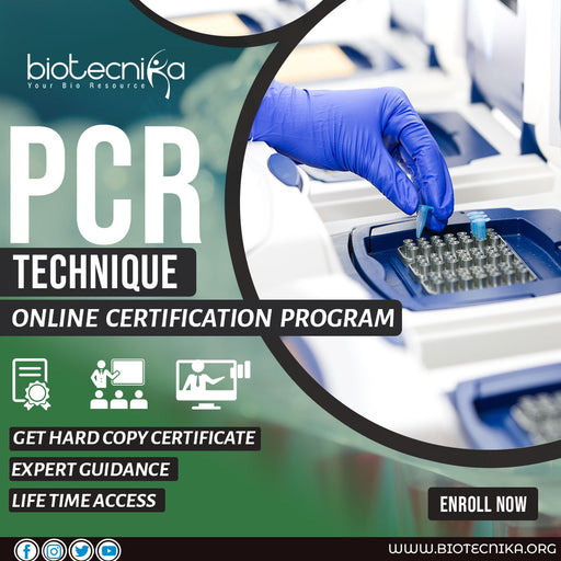 PCR Technique Online Certification Program