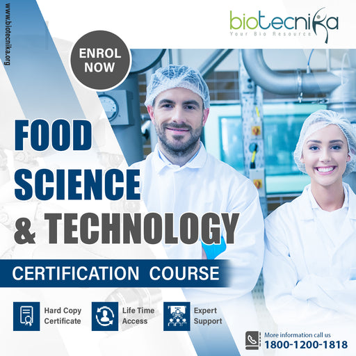 Food Science & Technology Certification Program