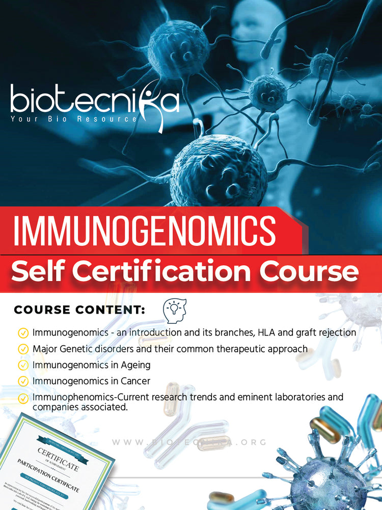 Immunogenomics Certification Course