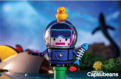 Capsubeans Deep Space Blind Box Collectibles - Diver