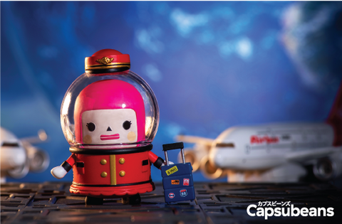 Capsubeans Deep Space Blind Box Collectibles - Air Hostess