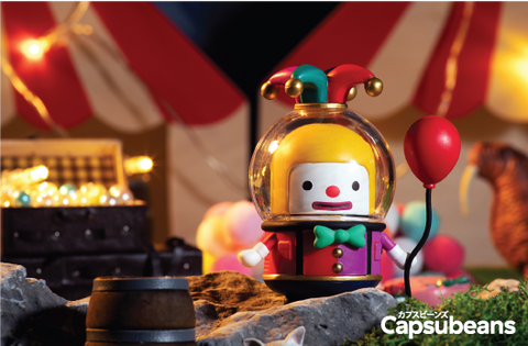 Capsubeans Deep Space Blind Box Collectibles - Clown