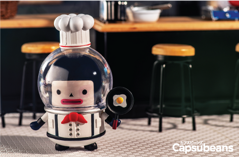 Capsubeans Deep Space Blind Box Collectibles - Chef