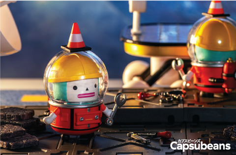 Capsubeans Deep Space Blind Box Collectibles - Builder