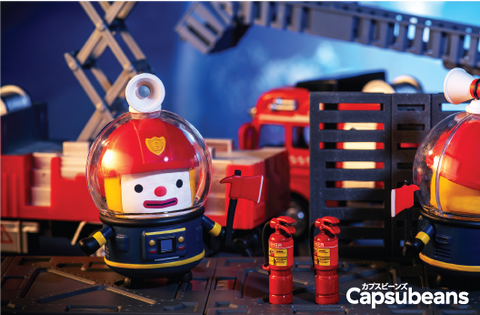 Capsubeans Deep Space Blind Box Collectibles - Firefighter