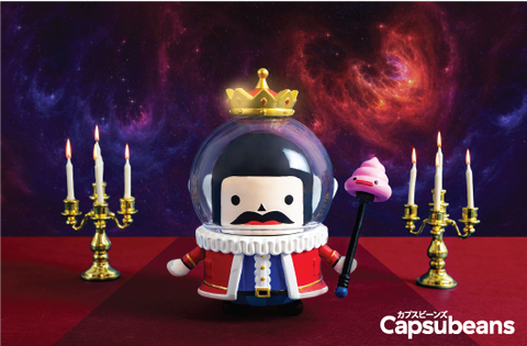 Capsubeans Deep Space Blind Box Collectibles - Mystery Version - King
