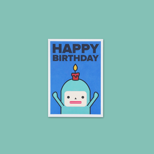 Birthday Card - Jack Bean - Capsubeans Greeting Cards