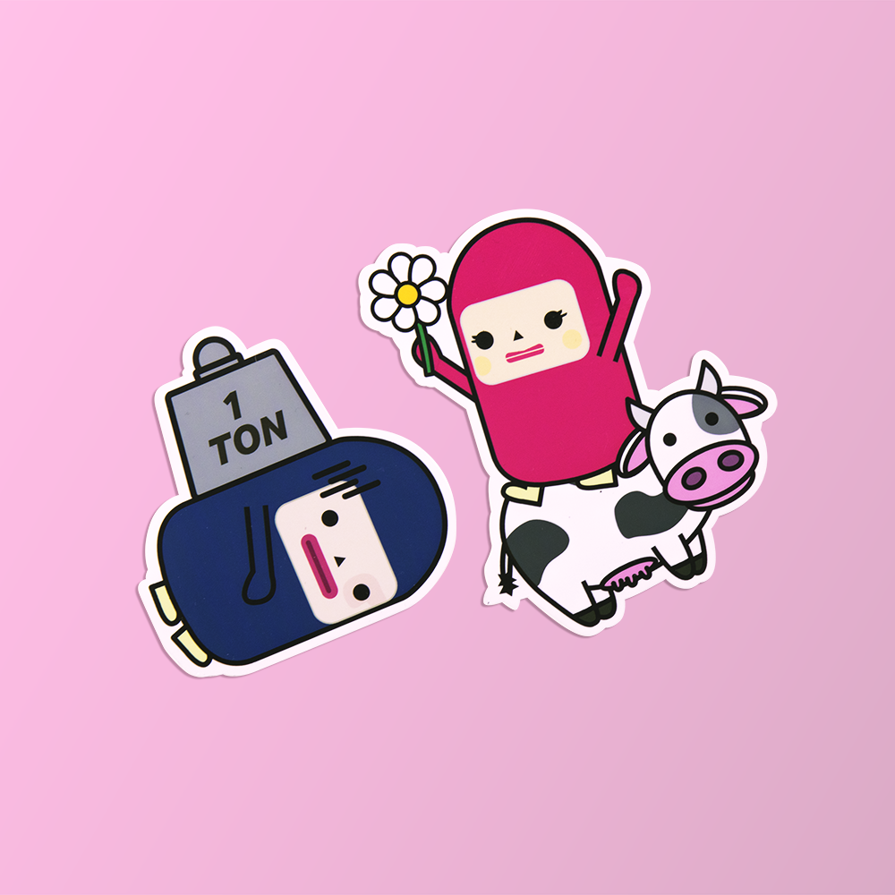 Cute Sticker Pack - Capsubeans Lifestyle