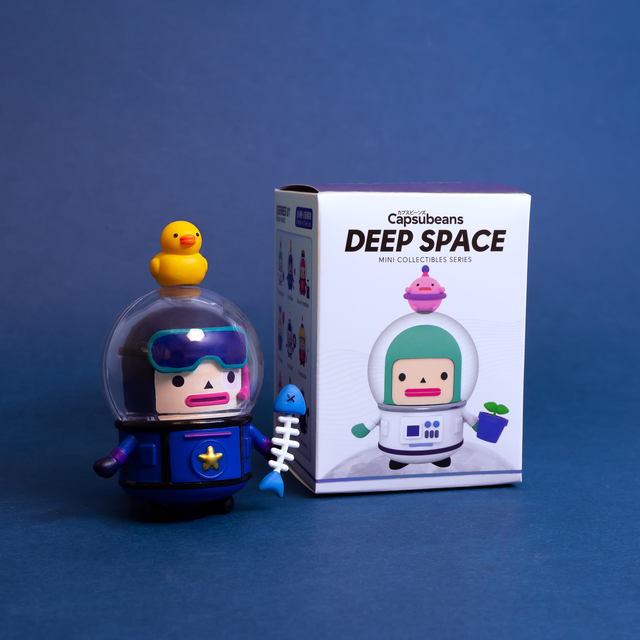 Blind Box - Capsubeans Deep Space Mini Figure Collectible Series