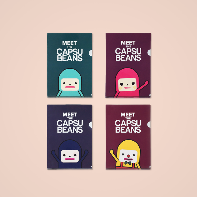 A4 Folders - Capsubeans Bundle - Capsubeans Stationery