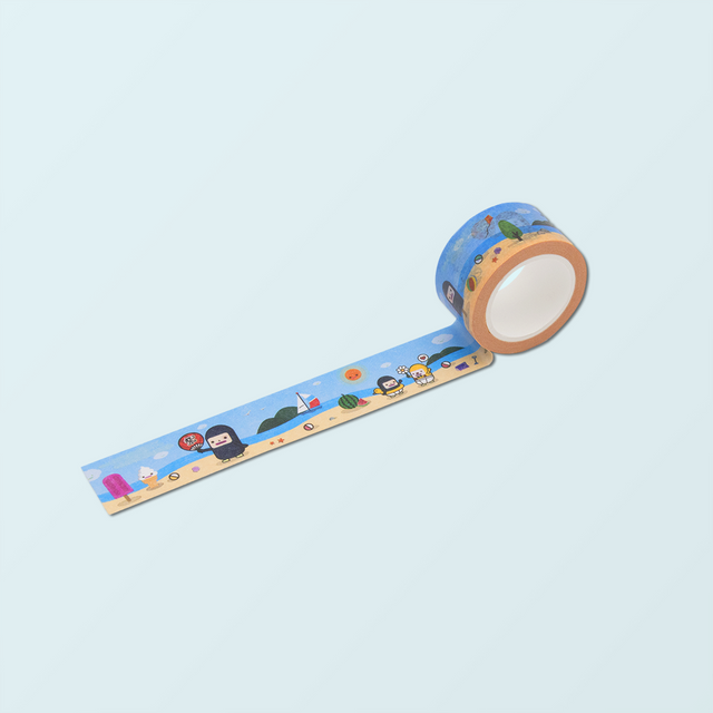 Cute Masking Tape - Summer Max - Capsubeans Washi Tape