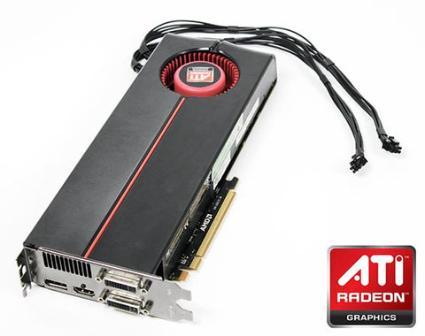 Flashed ATI Radeon 5870 Mac Pro Graphics Card