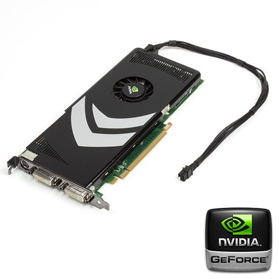 Flashed nVidia 8800GT Mac Pro Graphics Card 32 Bit A