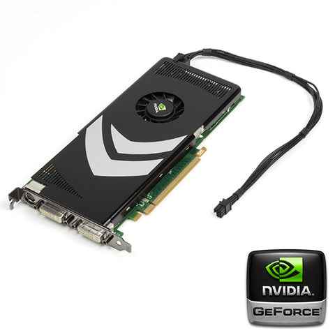 Flashed nVidia 8800GT Mac Pro Graphics Card 32 Bit