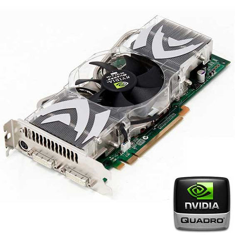 Flashed nVidia FX4500 Mac Pro Graphics Card