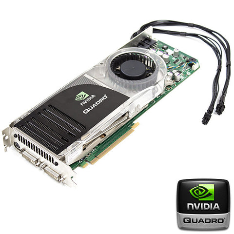 Flashed nVidia Quadro FX5600 Mac Pro Graphics Card