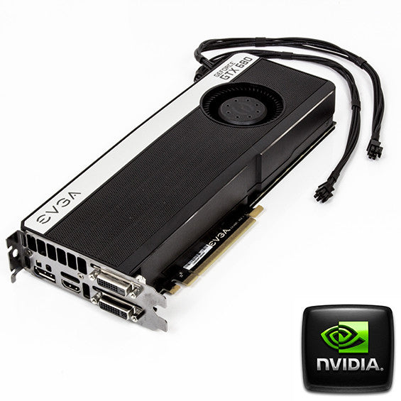 Flashed nVidia GTX680 4GB Mac Pro Graphics Card