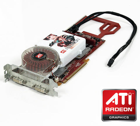 ATI Radeon X1900XT Mac Pro Graphics Card