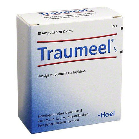 Traumeel S, Ampoules