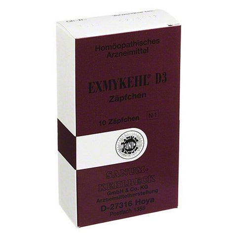 Exmykehl D3, Suppositories