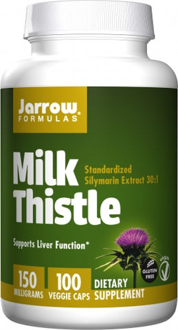 Jarrow Milk Thistle, 150 mg, 100 Veggie Caps