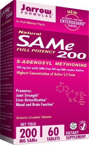 Jarrow SAM-e-200- 60 tablets