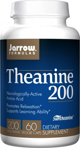 Jarrow Theanine 200 mg 60 caps