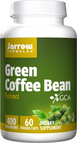 Jarrow Green Coffee Bean Extract 400 mg 60 veg caps