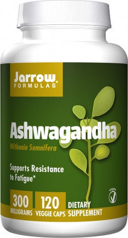 Jarrow Ashwagandha 300mg 120 veg caps
