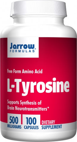 Jarrow L-Tyrosine 500mg 100 caps