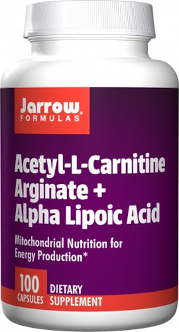 Jarrow Acetyl-L-Carnitine Arginate + Alpha Lipoic Acid 100 caps