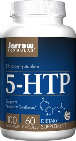 Jarrow 5 HTP 100mg 60 caps Supports Serotonin Synthesis*