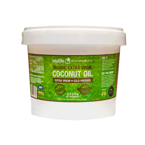 Certified Organic Extra Virgin Coconut Oil - 2.3L