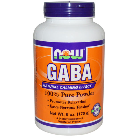 GABA, Powder, 6 oz (170 g)