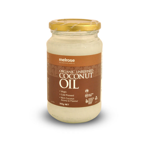 Organic Unrefined Coconut Oil 300g