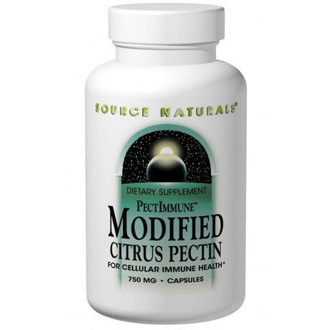 Modified Citrus Pectin, 750 mg, 120 Capsules