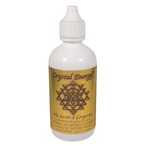 Crystal Energy, 120ml (4oz), Wetter Water Concentrate