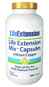 Life Extension Mix™ Without Copper