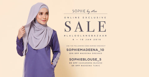 SOPHIE by atee SALE! #LALOOLALANGBAZAAR