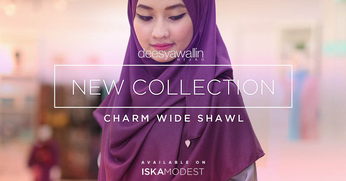 Charm Wide Shawl Collection