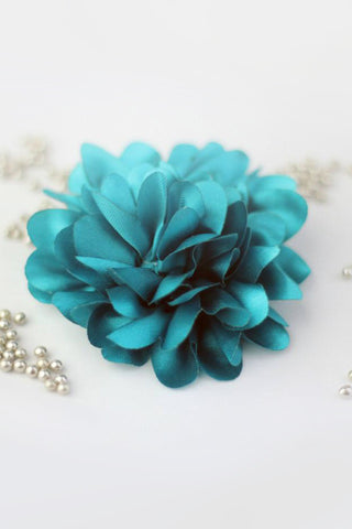 Flower Corsage - Turquoise