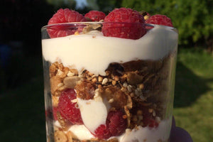 Barley, Quinoa, Seed and Nut Granola
